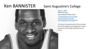 Ken Bannister, St. Augustine's