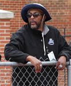 Victor Thomas, head track coach, Lincoln, MO