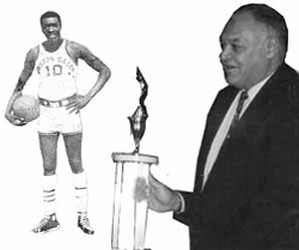 Championsdynasties black college sports history legends earl the pearl monroe with head coach clarence bighouse gaines sciox Images